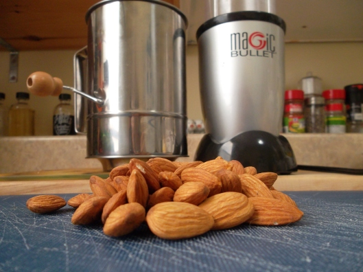 It doesn't take much to make Almond Flour