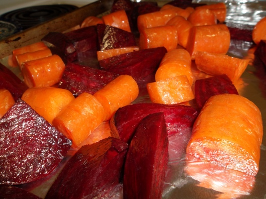 Beets and Carrots!