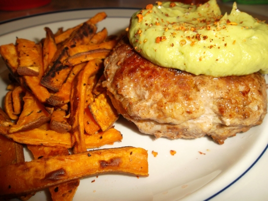 Paleo Spicy Pineapple Stuffed Burger