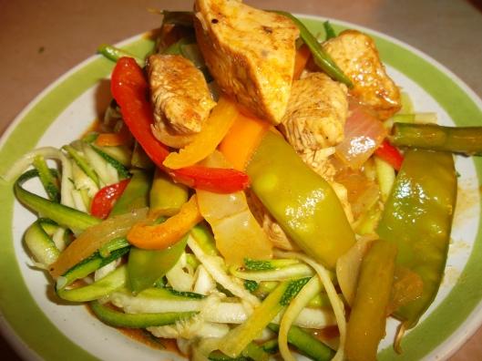 Paleo Coconut Curry Chicken