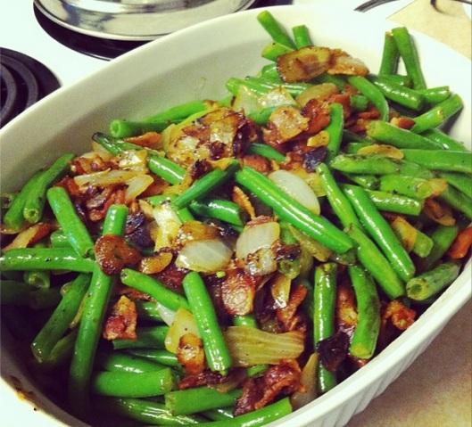 green bean bacon